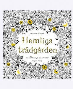"""MÅLARBOK """"HEMLIGA TRÄDGÅRDEN"""" – JOHANNA BASFORD"""