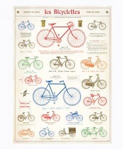 "POSTER – ""LES BICYCLETTES"""