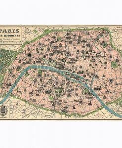 PARIS MAP – GRÖN