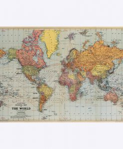 "POSTER – ""WORLD MAP"""