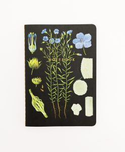 "NOTEBOOK BOTANICAL ""FORGET ME NOT"""
