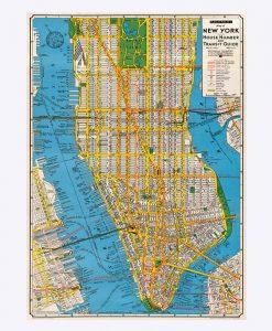 "Poster ""New York"" – Cavallini"
