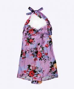 "Baddräkt ""Vintage flowers pink"" – Janna Drakeed"