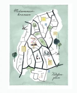 karta midsommarkransen
