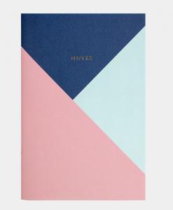 anteckningsbok pastell