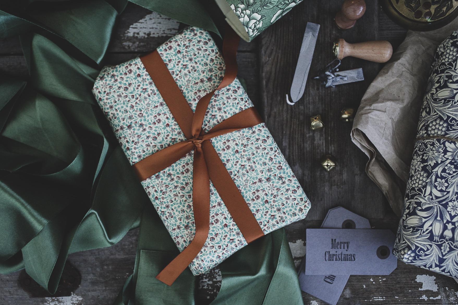 julklappar presentpapper vintagefabriken