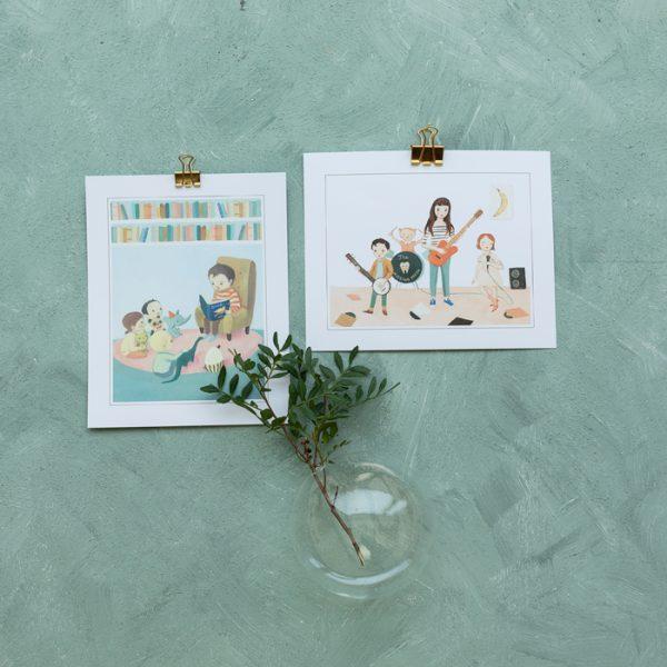 print till barnrummet