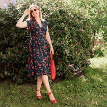 Retroklänning Nancy Rose
