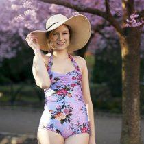 bikini blommig