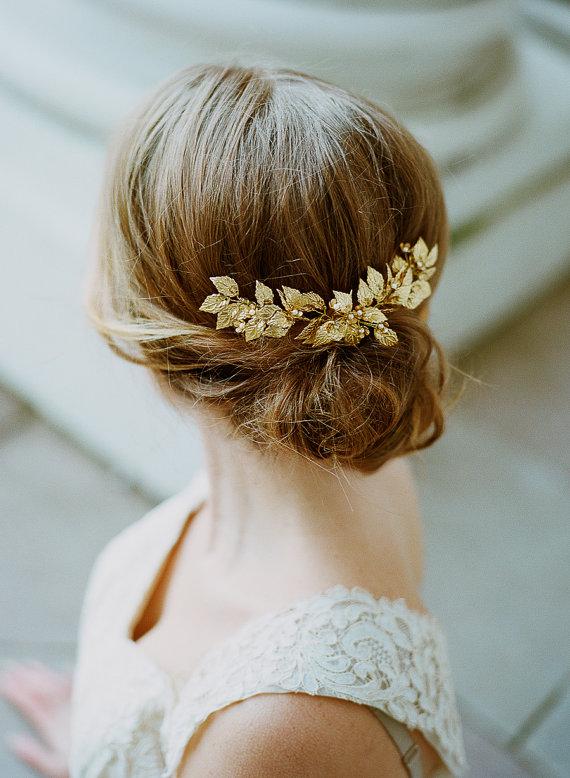 hårsmycke bröllop vintage