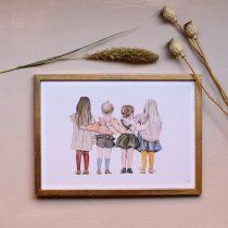 tavla med barn
