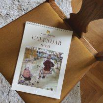 kajsa visual vaggkalendern 2021