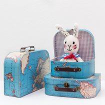 koffert med karta