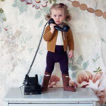 kofta barn vintage