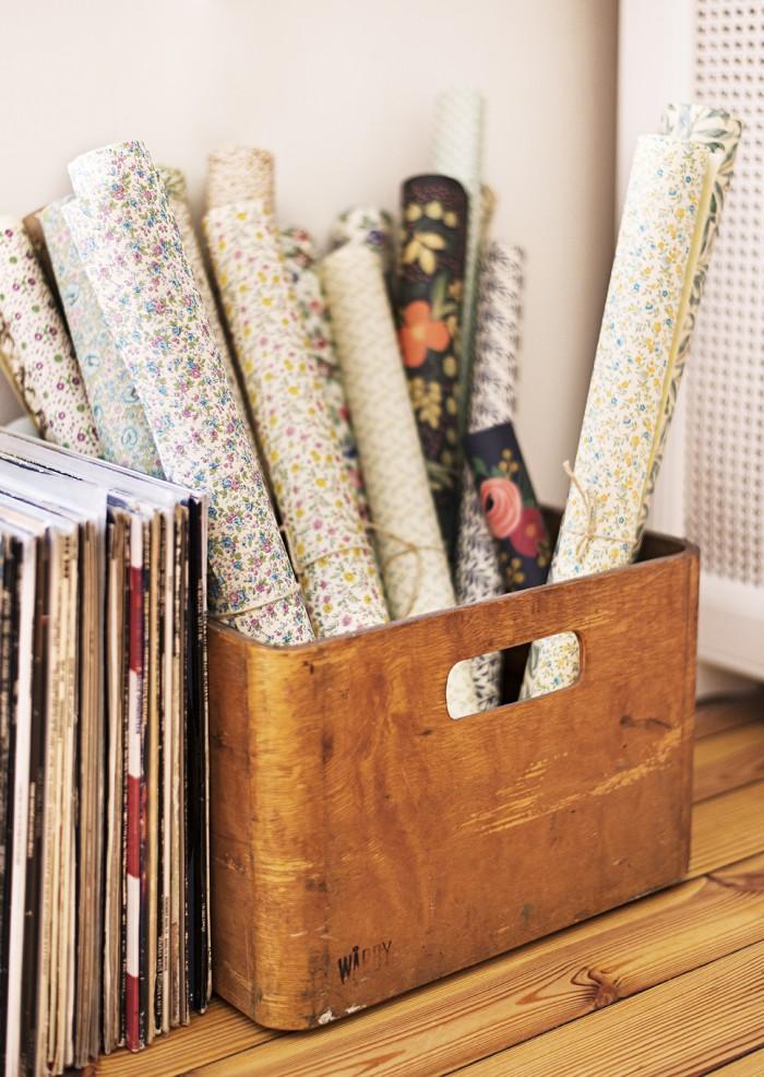 blommiga papper vintagefabriken