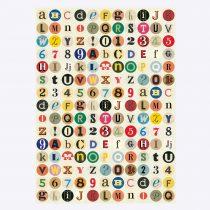 Poster Vintage Letters