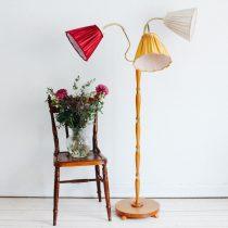 trearmad lampa vintage